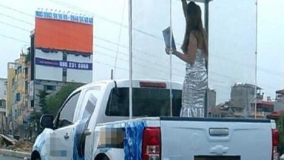 Có được chở người trên thùng xe tải, xe bán tải không? - Luật Trung Kiên